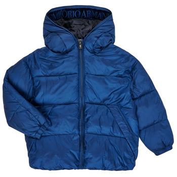 Oblačila Dečki Puhovke Emporio Armani 6H4BF9-1NLYZ-0975 Modra