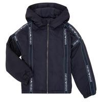 Oblačila Dečki Jakne Emporio Armani 6H4BL0-1NYFZ-0920 Modra