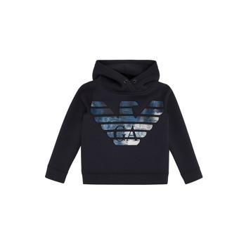 Oblačila Dečki Puloverji Emporio Armani 6H4MA9-1JDSZ-0920 Modra