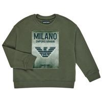 Oblačila Dečki Puloverji Emporio Armani 6H4MM1-4J3BZ-0564 Kaki