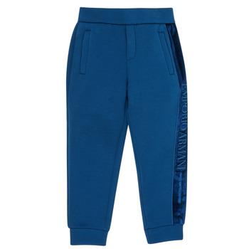 Oblačila Dečki Spodnji deli trenirke  Emporio Armani 6H4P84-1JDSZ-0975 Modra