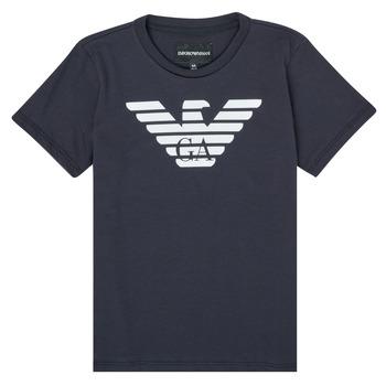 Oblačila Dečki Majice s kratkimi rokavi Emporio Armani 8N4T99-1JNQZ-0939 Modra