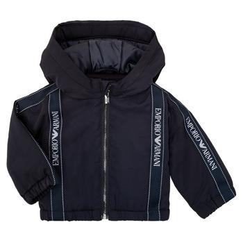 Oblačila Dečki Jakne Emporio Armani 6HHBL0-1NYFZ-0920 Modra