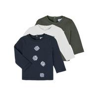 Oblačila Dečki Majice z dolgimi rokavi Emporio Armani 6HHD21-4J09Z-0564 Večbarvna
