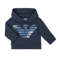 Oblačila Dečki Puloverji Emporio Armani 6HHMA9-4JCNZ-0922 Modra