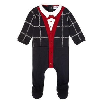 Oblačila Dečki Pižame & Spalne srajce Emporio Armani 6HHD12-4J3WZ-F912 Večbarvna