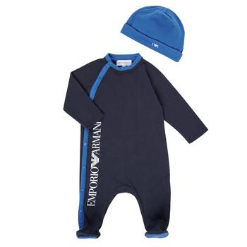 Oblačila Dečki Pižame & Spalne srajce Emporio Armani 6HHV12-4J3CZ-0922 Modra