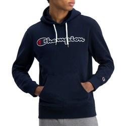 Oblačila Moški Puloverji Champion Hooded Sweatshirt Mornarsko modra