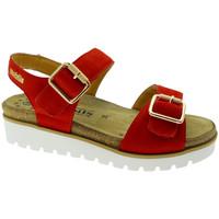 Čevlji  Ženske Sandali & Odprti čevlji Mephisto MEPHTARINAro rosso