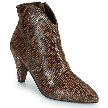 Čevlji  Ženske Gležnjarji Ravel LEVISA Piton