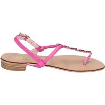 Čevlji  Ženske Sandali & Odprti čevlji Solo Soprani BN775 Roza