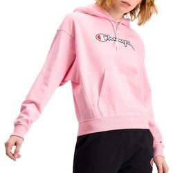 Oblačila Ženske Puloverji Champion Hooded Roza