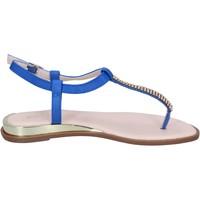 Čevlji  Ženske Sandali & Odprti čevlji Solo Soprani BN778 Modra