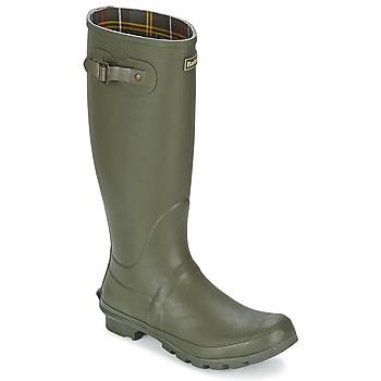 Čevlji  Moški škornji za dež  Barbour BEDE Olive