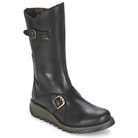 Čevlji  Ženske Mestni škornji    Fly London MES 2 Črna