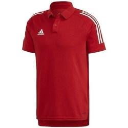 Oblačila Moški Polo majice kratki rokavi adidas Originals Condivo 20 Rdeča