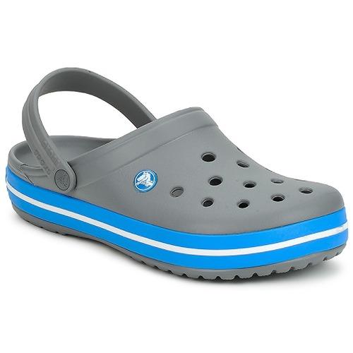 Čevlji  Cokli Crocs CROCBAND Siva / Ocean