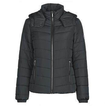 Oblačila Ženske Puhovke Armani Exchange 8NYB12 Črna