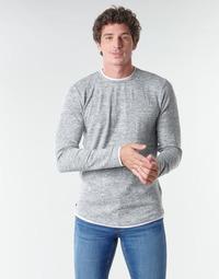 Oblačila Moški Majice z dolgimi rokavi Deeluxe MOHANSON Siva