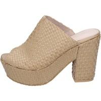 Čevlji  Ženske Sandali & Odprti čevlji Sara Lopez sandali pelle sintetica Beige