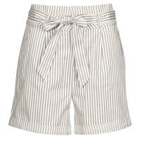 Oblačila Ženske Kratke hlače & Bermuda Vero Moda VMEVA Bela / Modra