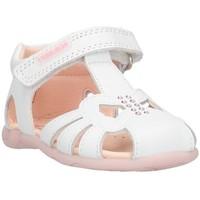 Čevlji  Otroci Sandali & Odprti čevlji Pablosky 0730 White