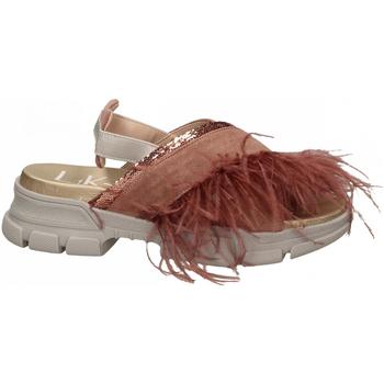 Čevlji  Ženske Sandali & Odprti čevlji L4k3 SANDAL PIUME STRUZZO rosa