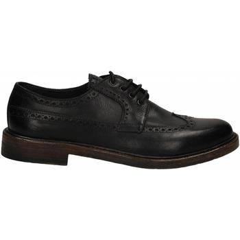 Čevlji  Moški Čevlji Derby Brecos BUFALO blu