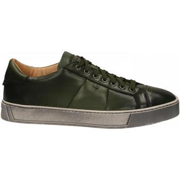 Čevlji  Moški Čevlji Derby Santoni DERBY 7 OCC. GOOSE verde