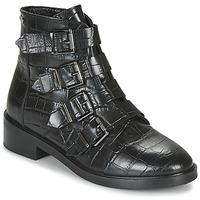 Čevlji  Ženske Polškornji Pepe jeans MALDON IMAN Črna