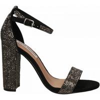 Čevlji  Ženske Sandali & Odprti čevlji Steve Madden CARRSONR CRYSTAL black