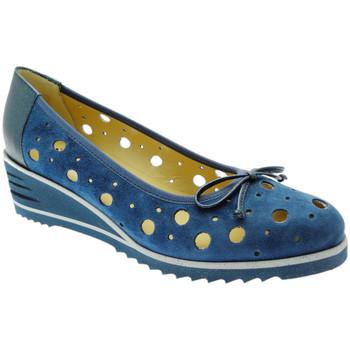 Čevlji  Ženske Balerinke Donna Soft DOSODS0770bl blu
