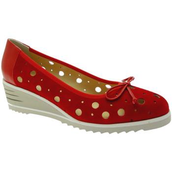 Čevlji  Ženske Balerinke Donna Soft DOSODS0770ro rosso