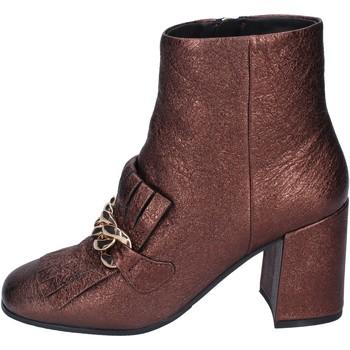 Čevlji  Ženske Gležnjarji Elvio Zanon Gležnarji BM15 Rjav