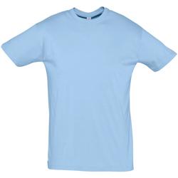 Oblačila Moški Majice s kratkimi rokavi Sols REGENT COLORS MEN Azul