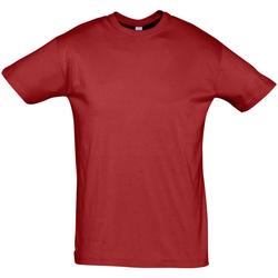 Oblačila Moški Majice s kratkimi rokavi Sols REGENT COLORS MEN Rojo