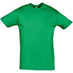 Oblačila Moški Majice s kratkimi rokavi Sols REGENT COLORS MEN Verde
