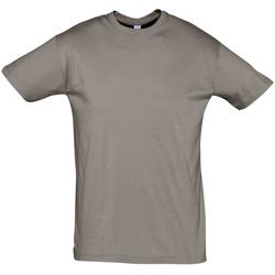 Oblačila Moški Majice s kratkimi rokavi Sols REGENT COLORS MEN Gris