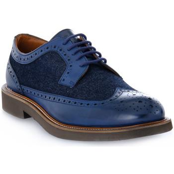 Čevlji  Moški Čevlji Derby Frau SIENA JEANS BLU Blu