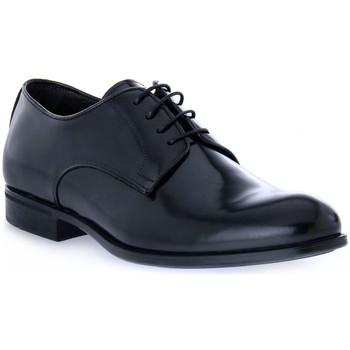 Čevlji  Moški Čevlji Derby Exton BRASIVATO NERO Nero