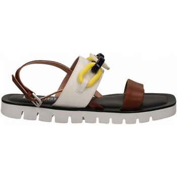 Čevlji  Ženske Sandali & Odprti čevlji Pollini Silver POLLINI ALESS20 bianco-cuoio