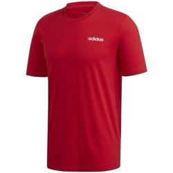 Oblačila Moški Majice s kratkimi rokavi adidas Originals Essentials Plain Tee Rdeča