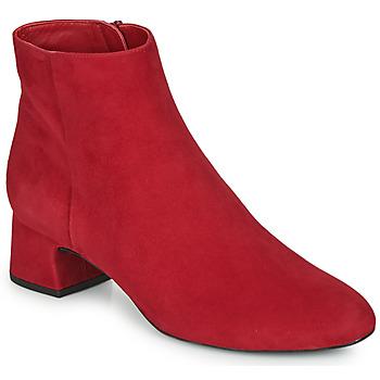 Čevlji  Ženske Gležnjarji Unisa LOLI Rdeča