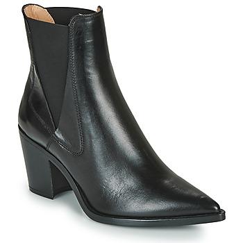 Čevlji  Ženske Gležnjarji Unisa MUNIS Črna
