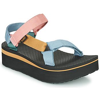 Čevlji  Ženske Sandali & Odprti čevlji Teva FLATFORM UNIVERSAL Večbarvna