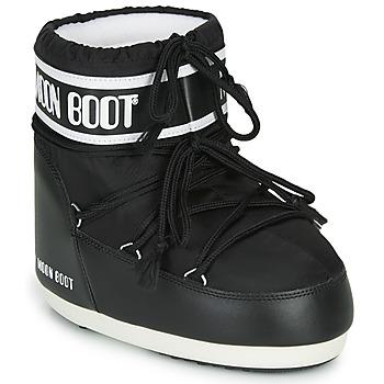 Čevlji  Ženske Škornji za sneg Moon Boot MOON BOOT CLASSIC LOW 2 Črna