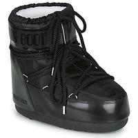 Čevlji  Ženske Škornji za sneg Moon Boot MOON BOOT CLASSIC LOW GLANCE Črna