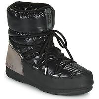 Čevlji  Ženske Škornji za sneg Moon Boot MOON BOOT LOW ASPEN WP Črna