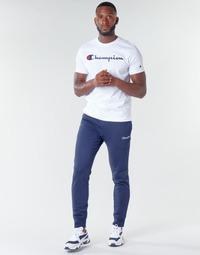Oblačila Moški Spodnji deli trenirke  Champion HEAVY COMBED COTTON Modra