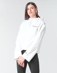 Oblačila Ženske Puloverji Champion HEAVY COMBED COTTON FLEECE Bela